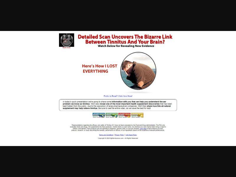 Tinnitus 911 - VSL - Health - SS - [US, CA, UK, AU, NZ]