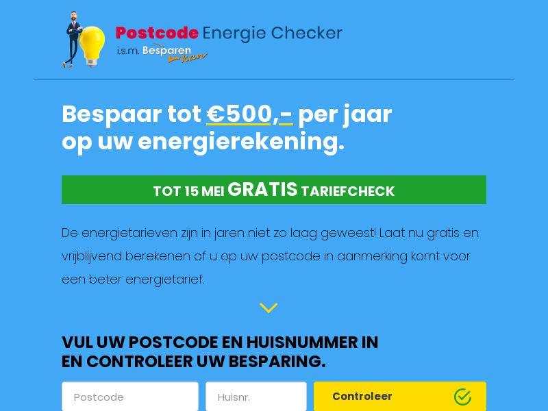 12649) [WEB+WAP] Postcode energie checker - BE - CPL