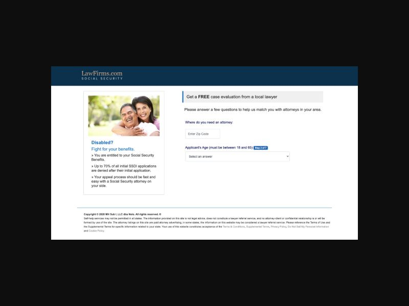 Social Security (US) CPL Revshare