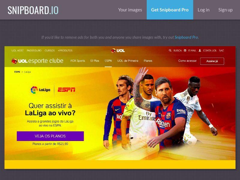 37984 - BR - Telco - UOL Esporte Clube - CPA (open cap)