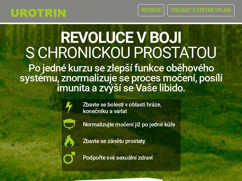 Urotrin CZ - men's health treatment (new)