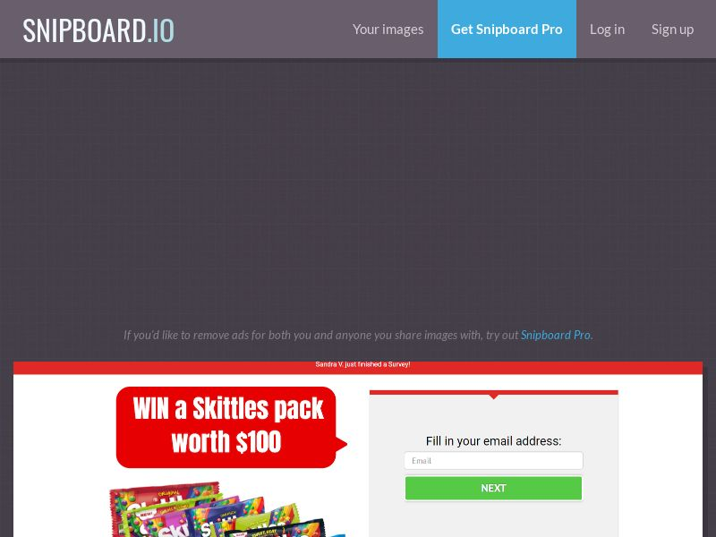41728 - US - SWEEPCENTRAL - Win a Skittles pack worth $100 - SOI