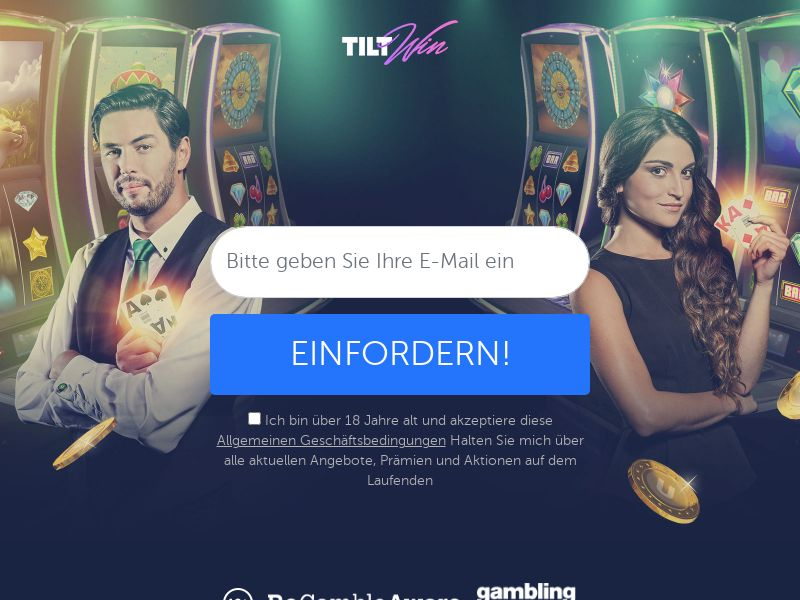 TiltWin - Email Submit DE