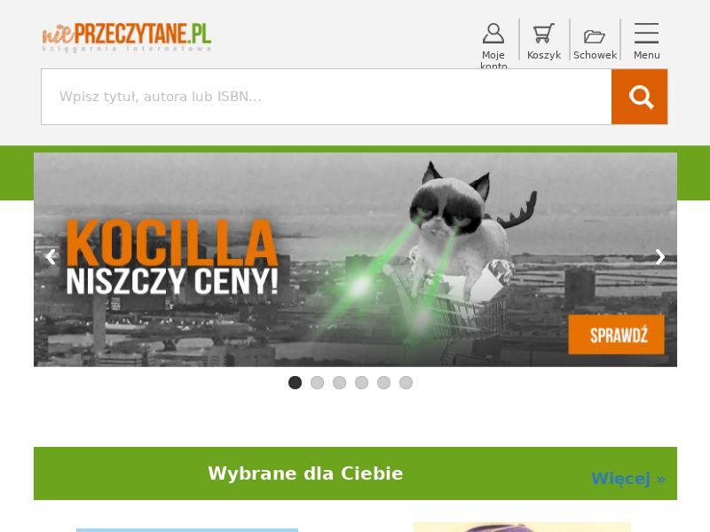 niePrzeczytane.pl - PL (PL), [CPS], Books, Ebooks, Knowledge, Tutorials, Sell, shop, guide