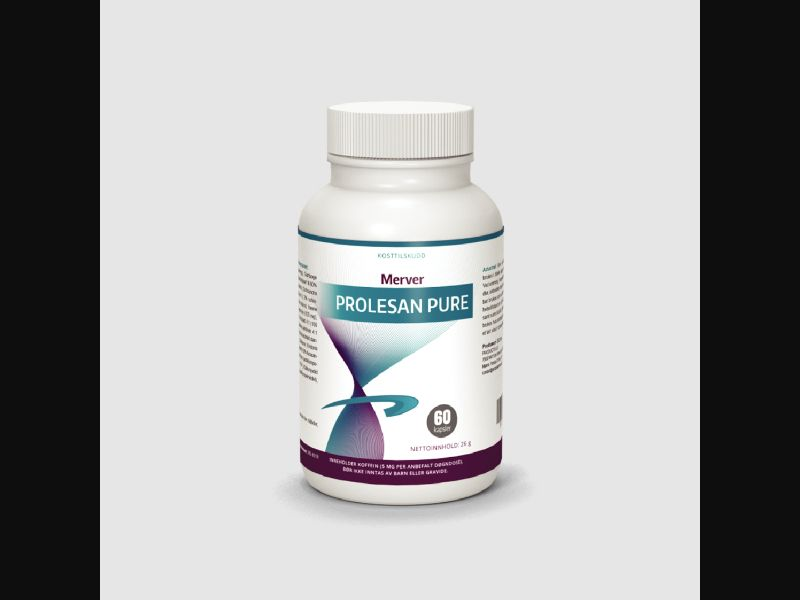 PROLESAN PURE – LV – CPA – weight loss – capsules - COD / SS - new creative available