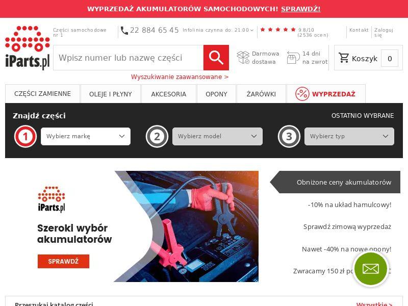 Iparts (PL), [CPS], Motoring, Car parts, Sell, moto