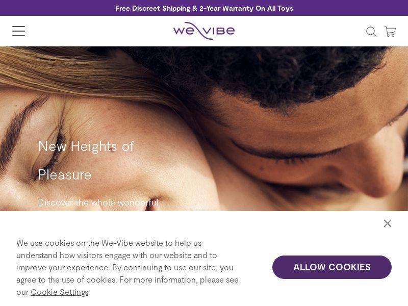 WE-VIBE [US CA DE UK FR]
