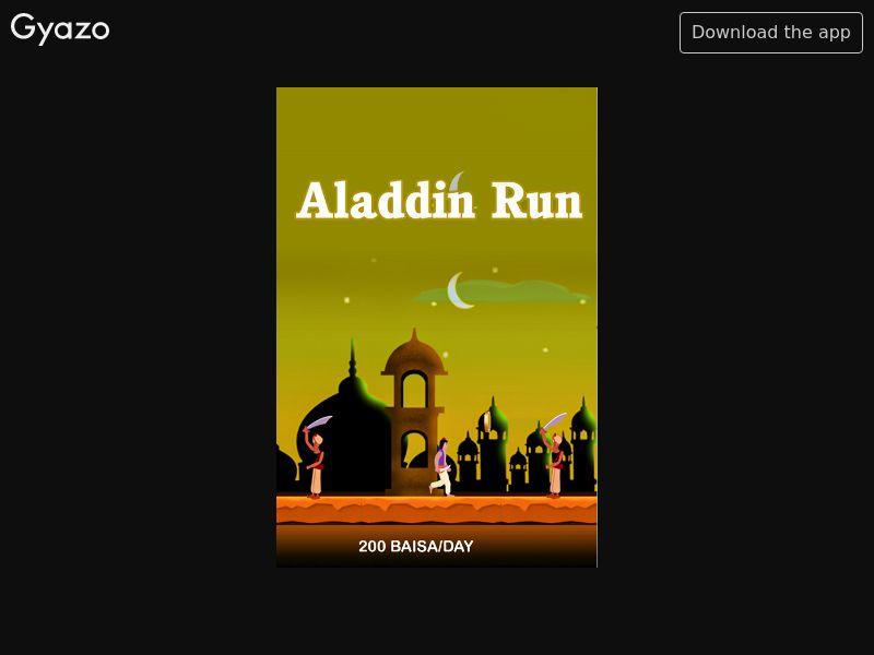 Aladdin Run (OM)
