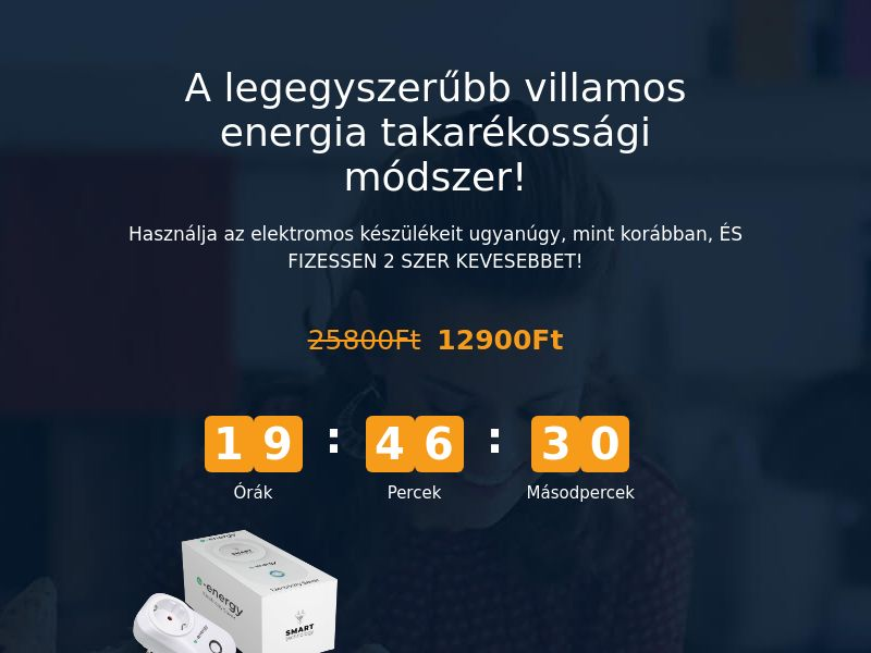 E-Energy HU - energy saving device