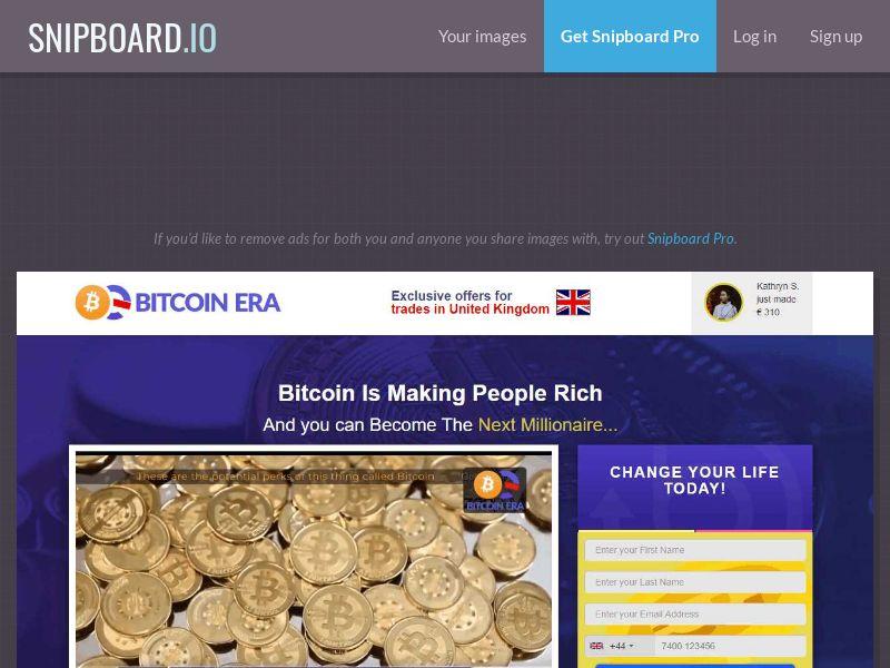 39884 - NO - MY - Crypto - Bitcoin ERA - (NO, MY) - FTD (min $250) -