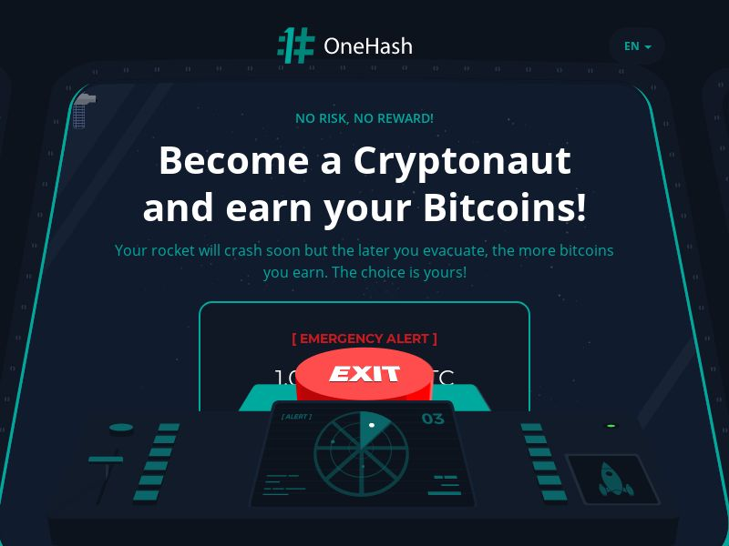 OneHash BTC Casino - Moon 1 (INTL) (CPS) (Personal Approval)