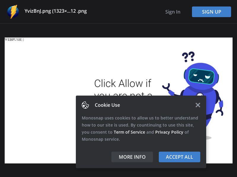 Spain (ES) - Windows - Click Allow If Your Not a Robot - Desktop