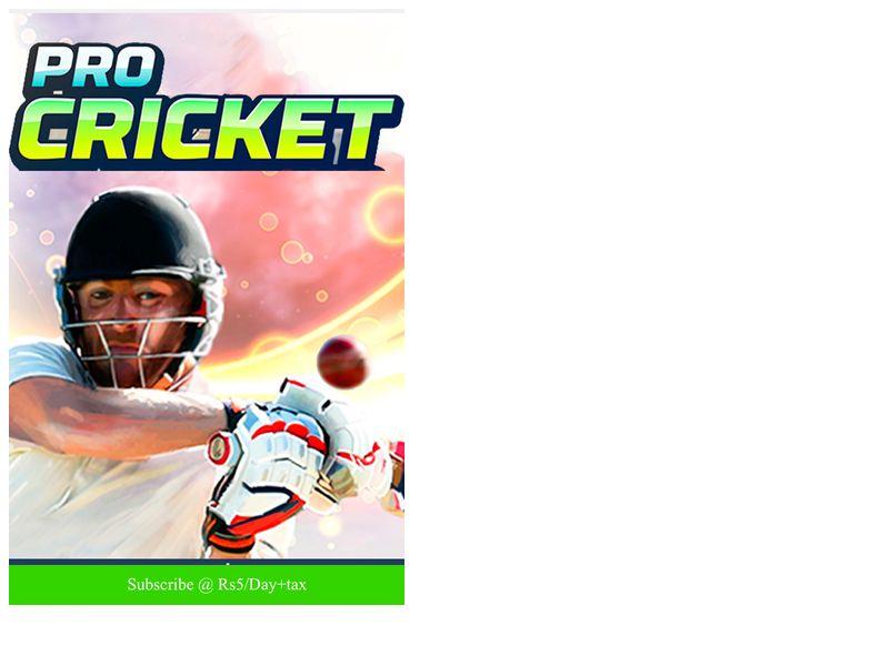 Pro Cricket Dialog