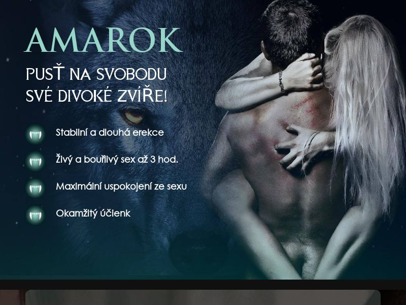 Amarok CZ - potency treatment product