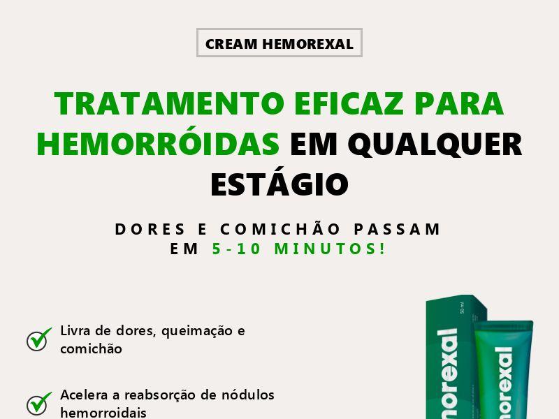 Hemorexal PT - hemorrhoids treatment
