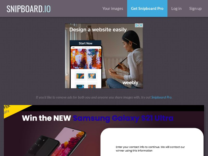 YouSweeps - Samsung Galaxy S21 Ultra US - SOI