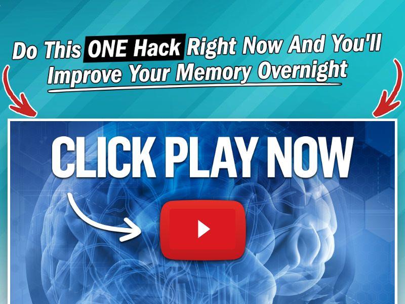 Memory Hack - VSL [INTL] (Banner,Native,Search,SEO,Social,Push) - CPA {No Email,No Brand Bidding}