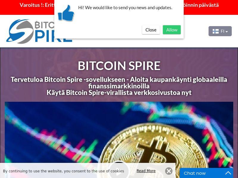 The Bitcoin Spire Finnish 2683