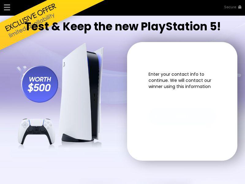 (13592) [WEB+WAP] PlayStation5 - US - CPL
