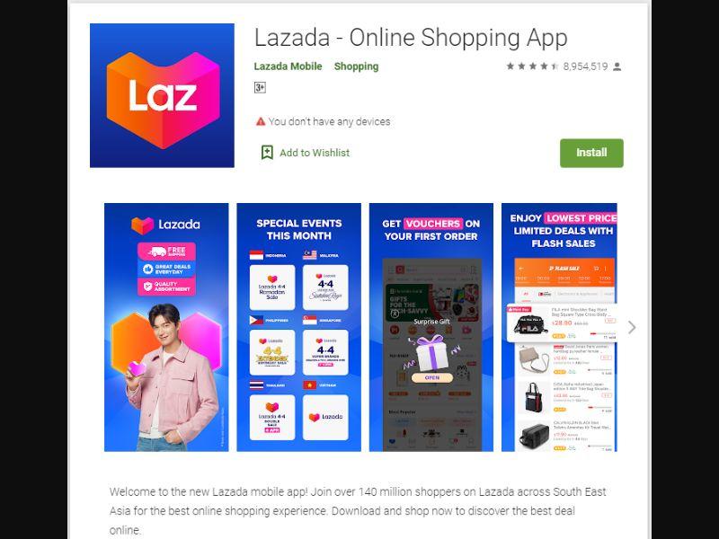 PH,ID - Lazada App Direct [PH] - CPI