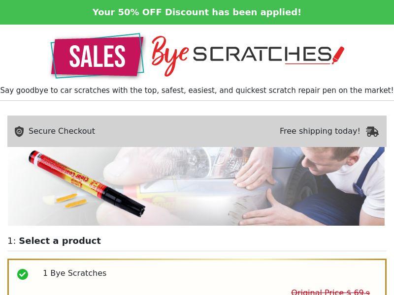 Bye Scratchers - US/INTL