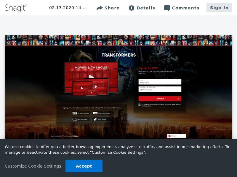iWatchNow Signup-imdb [Exclusive]   Intl