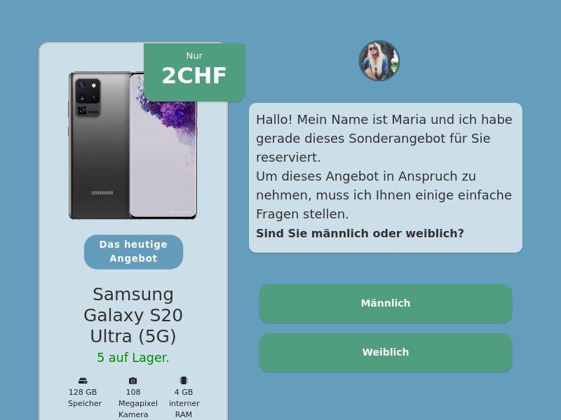 Step-by-step FUNNEL: Samsung Galaxy S20 Ultra - CH