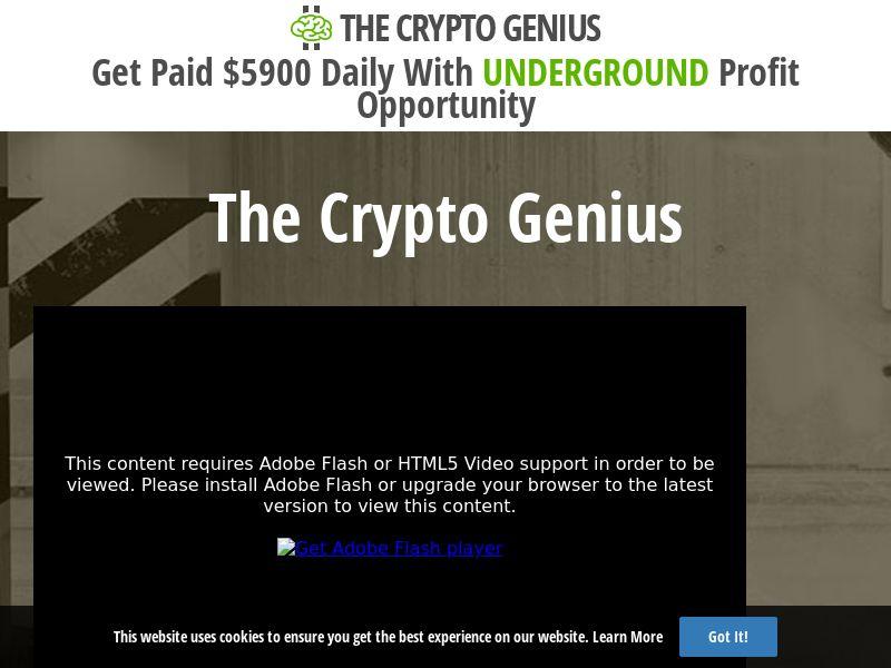 Crypto Genius (HK) (CPS)