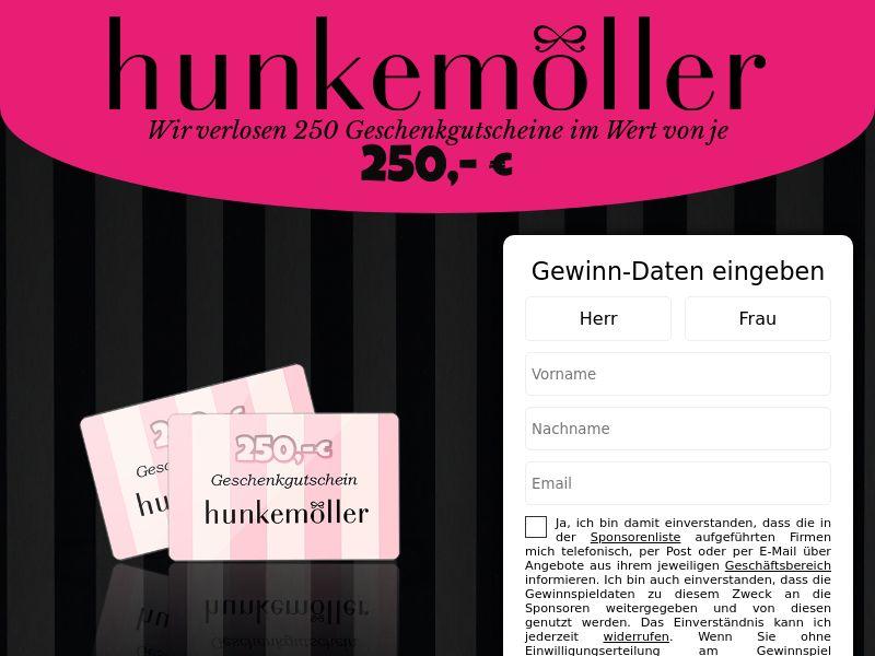 (14285) [WEB+WAP] Hunkemöller voucher - DE - CPL