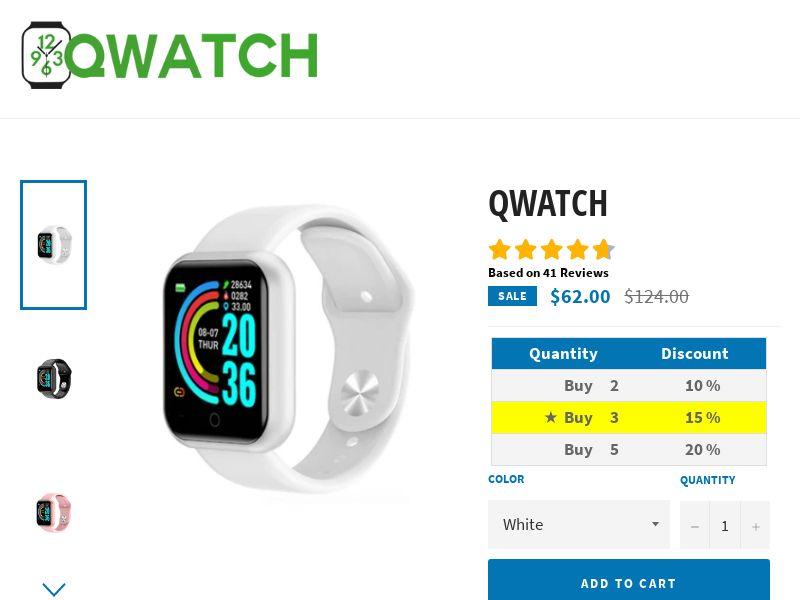 Qwatch - Smartwatch NEW Version - CPA - [22 GEOs]