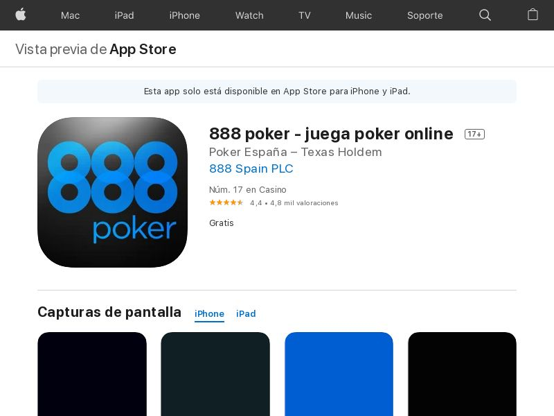 Poker - ES - IOS - CPA - DIRECT