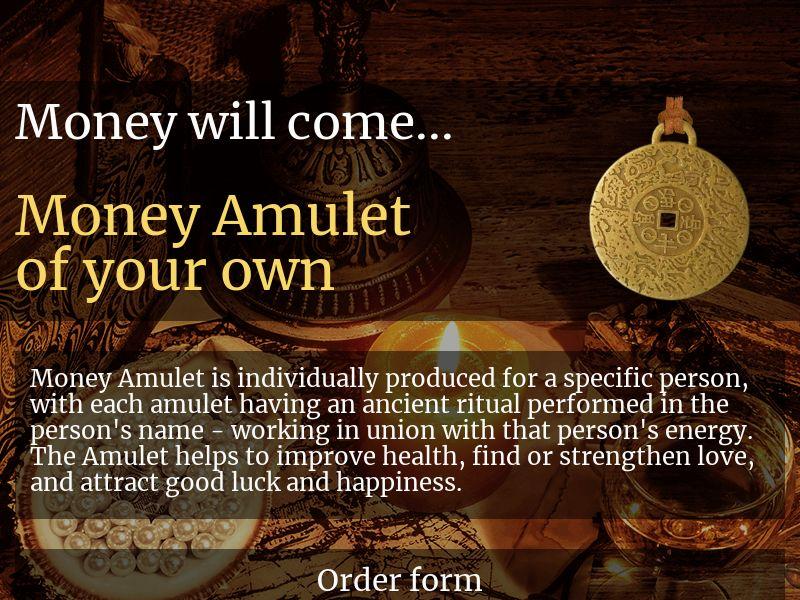 Money Amulet - IE