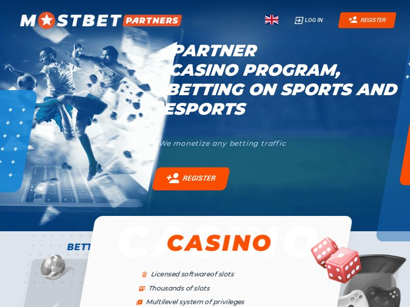 MostBet Partners - Betting & Gambling (CPL)