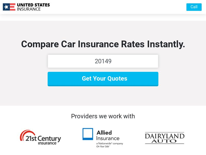 United States Insurance - Auto (Email Only) No Weekend Drops