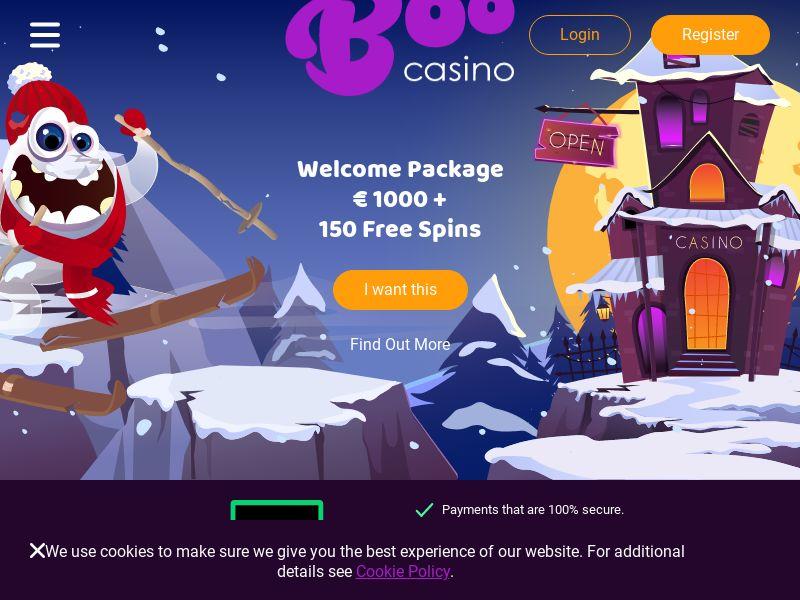 Boo Casino CPL (Incent) [DE]
