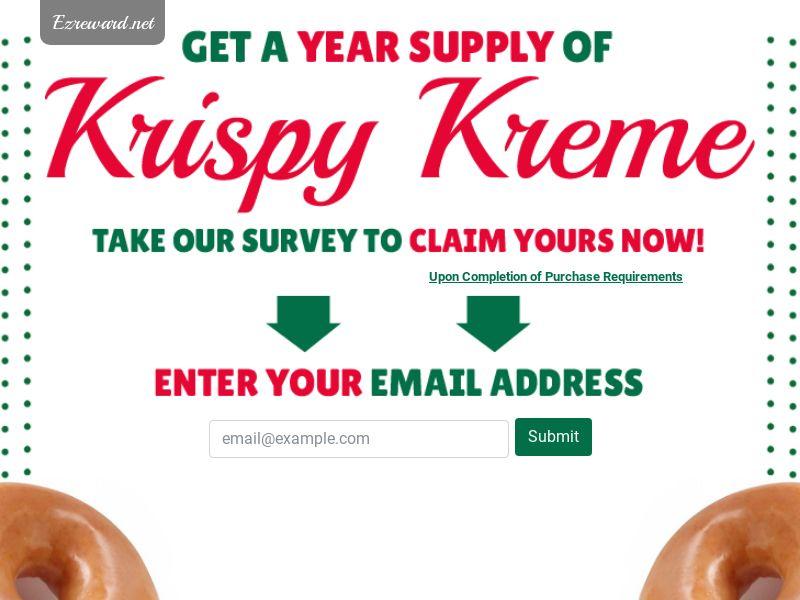 Krispy Kreme - Networks - US (Incent) - CPL - DIRECT