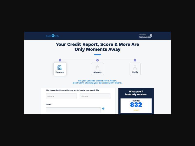 ScoreCasterIQ - Credit Score (US) Incentive