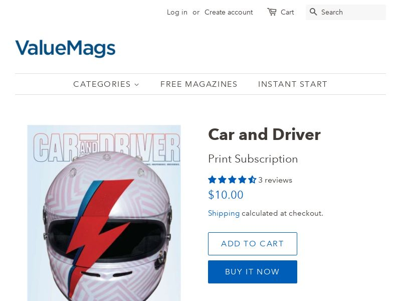 Car and Driver Magazine Subscription (80% OFF!)   US
