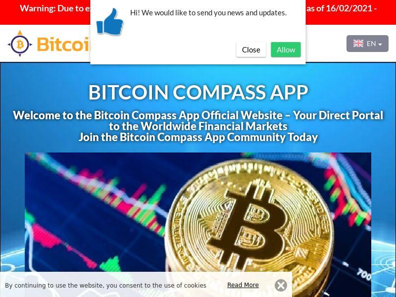 Bitcoin Compass App Arabic 2584