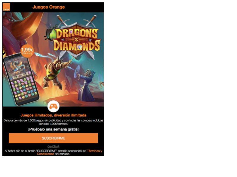 Dragon Diamonds Orange