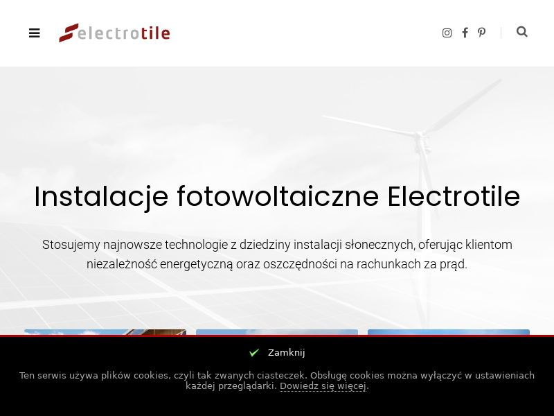 Electrotile (PL), [CPS], Services, Energy, Sell