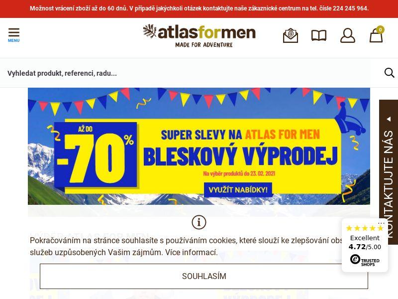 Atlas for Men - CZ