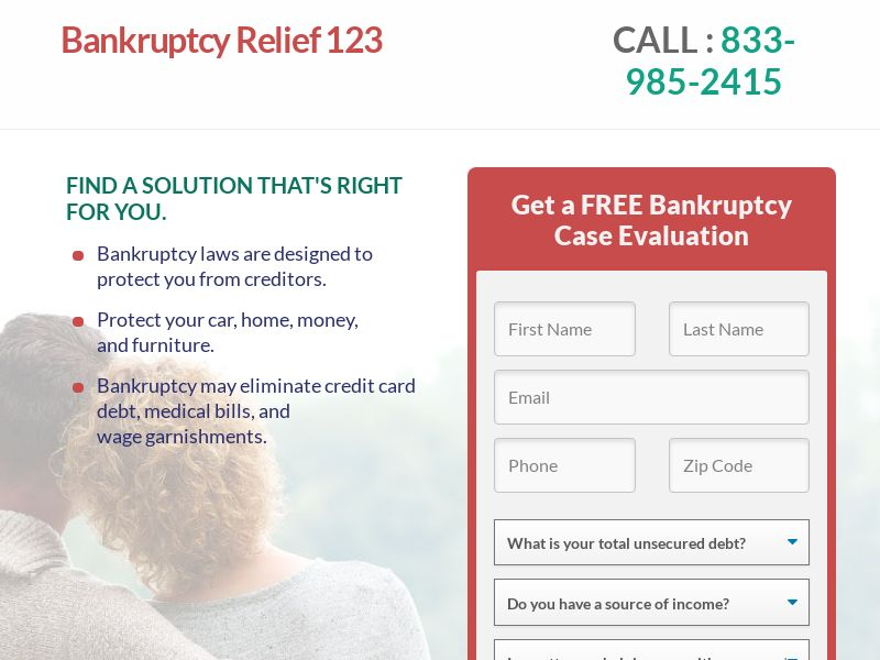 Bankruptcy Relief 123