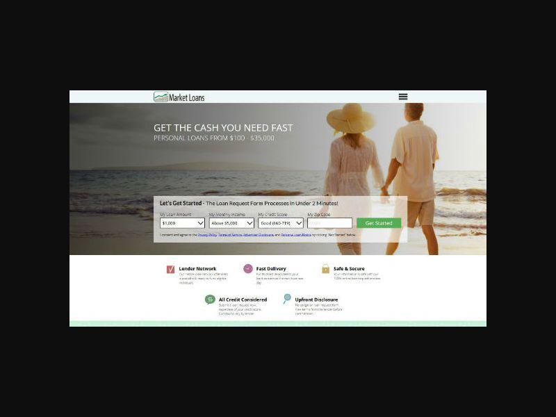 MarketLoans.net - Personal Loans - US