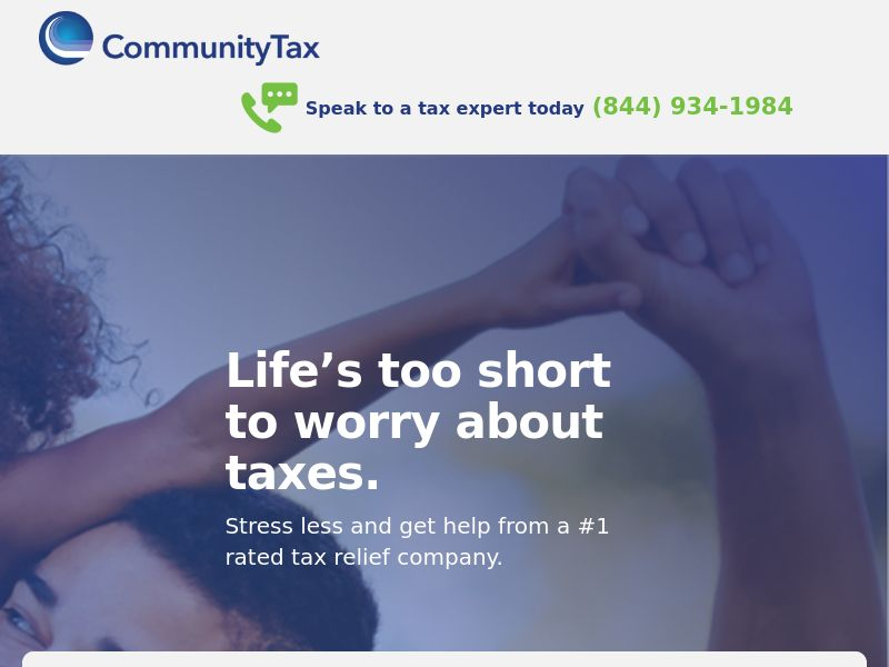 US -Community Tax Debt- Mon-Sat Only