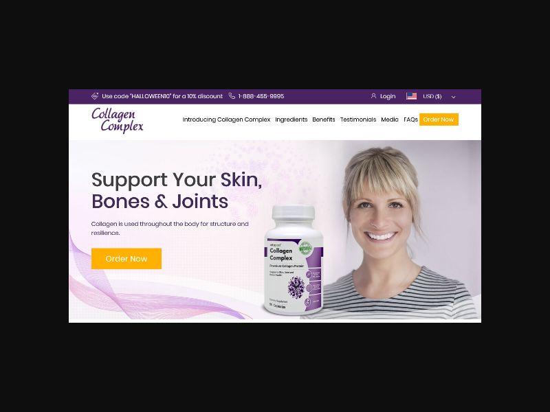 Collagen Complex - CPA (US,CA)