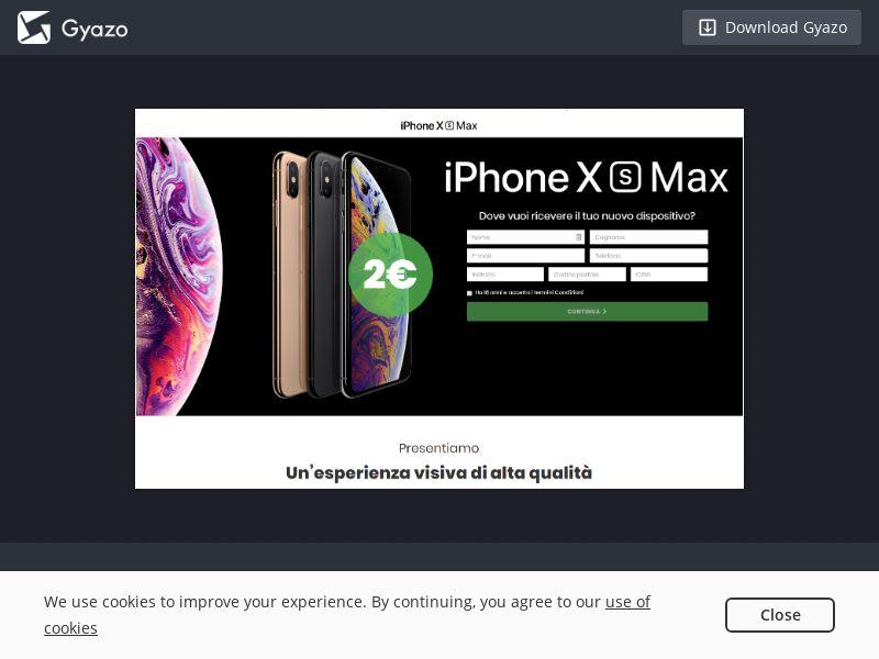 PerfectCV iPhoneXS Max v3 IT | CC Sub