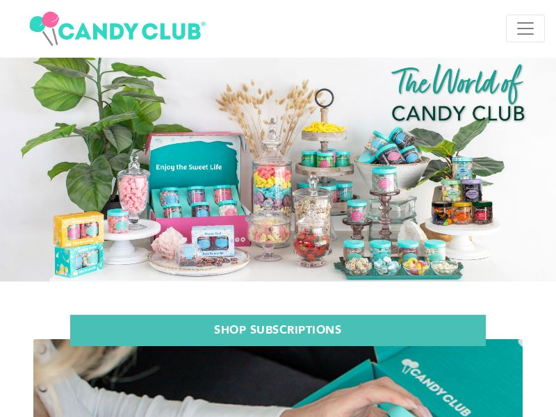 Candy Club - Candy Subscription - $15 Off First Box! | US