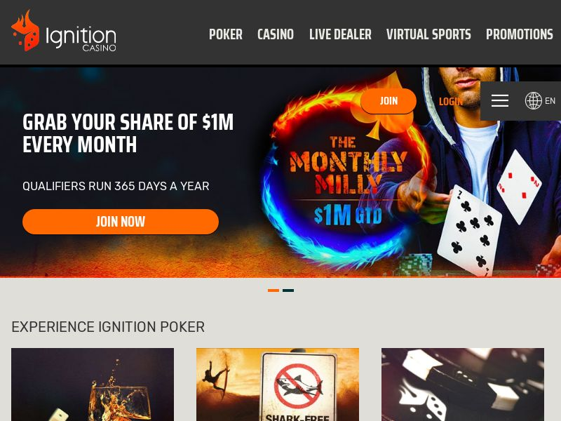 Ignition Casino - CPA [AU]