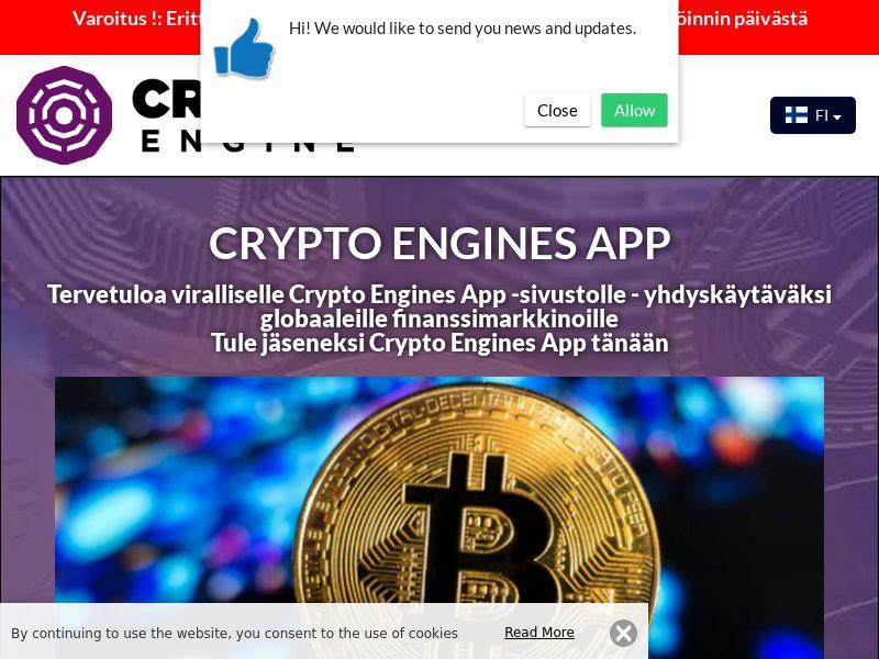 Crypto Engines App Finnish 2555